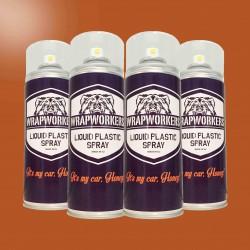 Vernice gomma: 4 spray GLOSS ROSSO