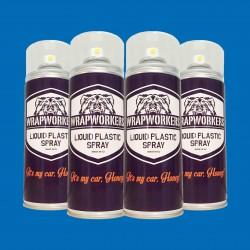 Pintura para llantas: 4 spray AZUL MATE