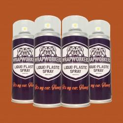 La peinture de pneus: 4 spray MAT ROUGE