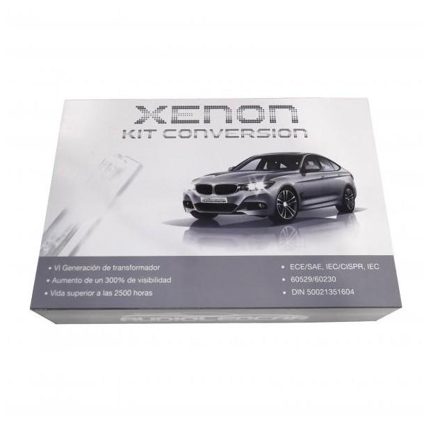 Kit xénon H4 6000k ou 4300k - Type 1 STANDARD 35W