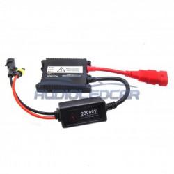 Kit bi-xénon H4 6000k ou 4300k - Type 1 STANDARD 35W