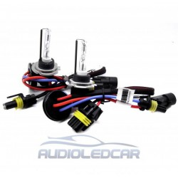 Kit xenon H7 6000k, 8000k ou 4300k - Type 3 SLIM 55W