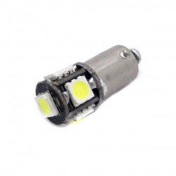 Bulbo claro do diodo EMISSOR de luz CANBUS ba9s / t4w - TIPO 15