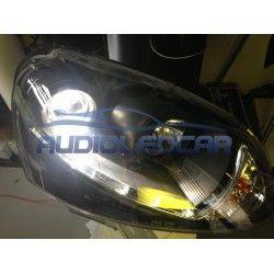 Kit diodo EMISSOR de luz H11 para carro e moto (branco puro)