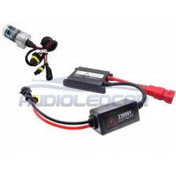 Kit xenon moto / quad H1 6000k or 4300k STANDARD