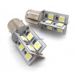 ZesfOr® Bombilla LED 1156 Can Bus Aspa - TIPO 18