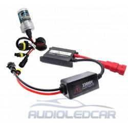 Kit xenon moto / quad HB4 / 9006 6000k o 4300k ESTANDAR