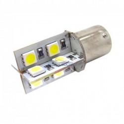 Bulbo claro do diodo EMISSOR de luz CANBUS p21w - TIPO 18