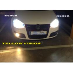 Ampoules Jaune-vision H8