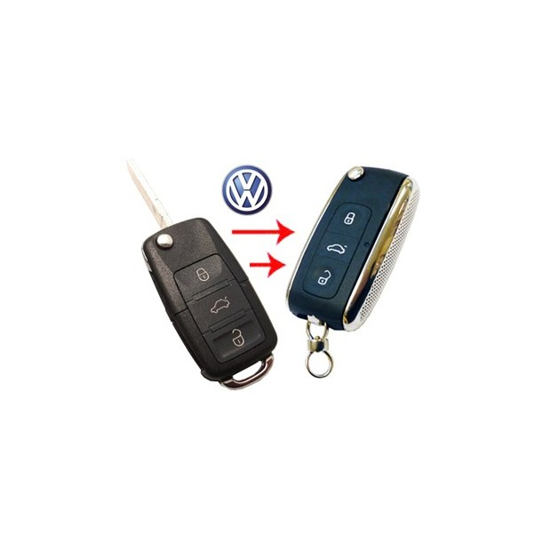 Carcasa para llave VW a BENTLEY NO CANBUS