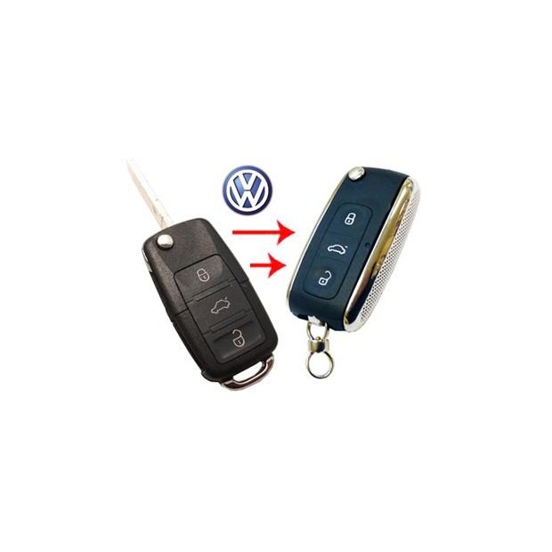 Logement pour clé VW BENTLEY PAS CANBUS