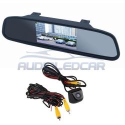 Kit-Bildschirm-Rückspiegel + Kamera farbe