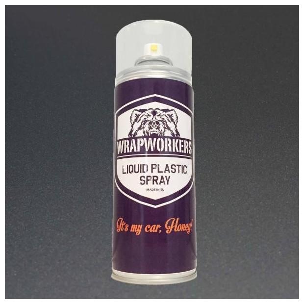 Spray paint vinyl liquid ANTHRACITE METALLIC