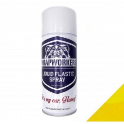 Spray paint vinyl liquid MATTE YELLOW