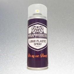 Pittura di spruzzo di vinile liquido METALLICO di ALLUMINIO marca WrapWorkers