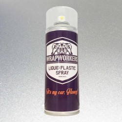 Spray paint vinyl liquid ALUMINUM METALLIC brand WrapWorkers
