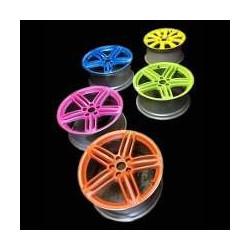 Paint tire: 4 spray YELLOW NEON