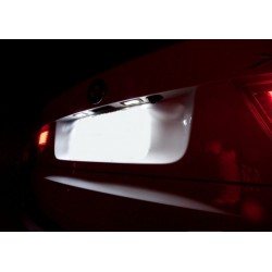 Candeeiros de matrícula diodo EMISSOR de luz Seat Ibiza 6j (FR, Cupra ou bocanegra) 2009-2017