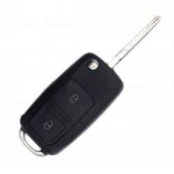 Housing for key Skoda 2 buttons