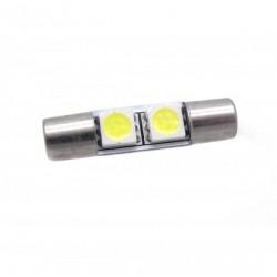 Lâmpada LED tipo fusível 28mm - TIPO 42