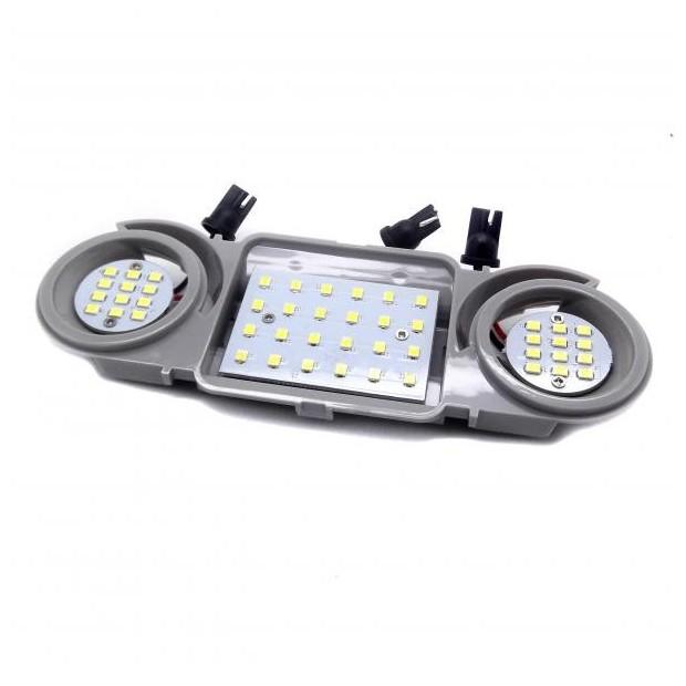 Placa de LEDs traseira para Volkswagen Golf V e VI (2004-2012)