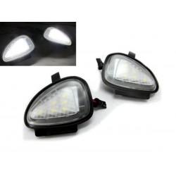 La retombée de plafond de LED pour rétroviseur Volkswagen Golf VI (2008-2012)
