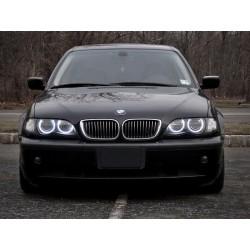 Aros CCFL BMW E46 E36 E38 E39 e (Faro halogênio 1998-2003)
