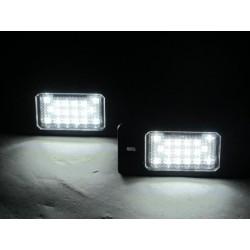 Painéis LED de matrícula Porsche Cayenne 2010-2015