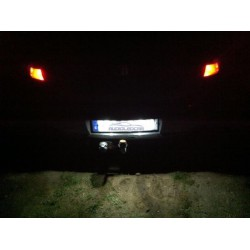 Diodo emissor de luz matricula Audi A3 A4 A5 A6 A7 A8, Q7 TT e Q3 Q5