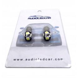 Diodo emissor de luz posição Audi A3 A4 A5 A6 A7 A8, Q7 TT Q5 e Q3 (Tipo 15 / h6w)