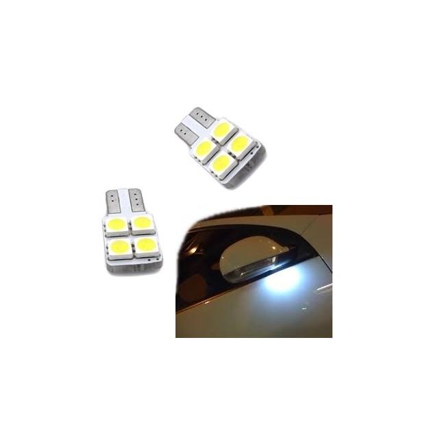 Lâmpadas de led espelhos retrovisores Audi A3 A4 A5 A6 A7 A8, Q7 TT e Q3 Q5