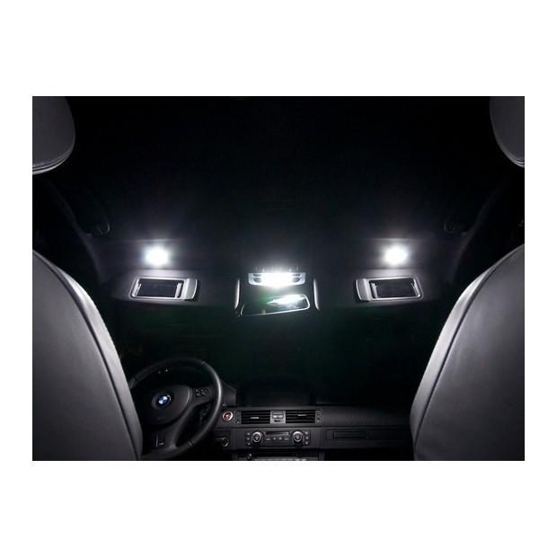 Per BMW 3 Series e90 501 w5w GIALLO INTERNA SPORTELLO LAMPADINA LUCE LED 4-led Quad