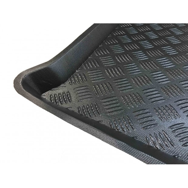 Suzuki Grand Vitara PROTECT-2 Waterproof Rear Bench Car Seat Cover Fabric Protector or Boot Liner in Black