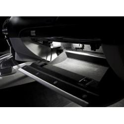 Diodo emissor de luz porta-luvas BMW Série 1, 3, 5, 6, X1, X3, X5, X6 e Z4