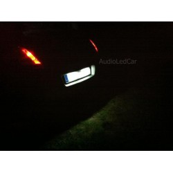 Leds matricula canbus BMW Serie 1, 3, 5, 6, X1, X3, X5, X6 y Z4