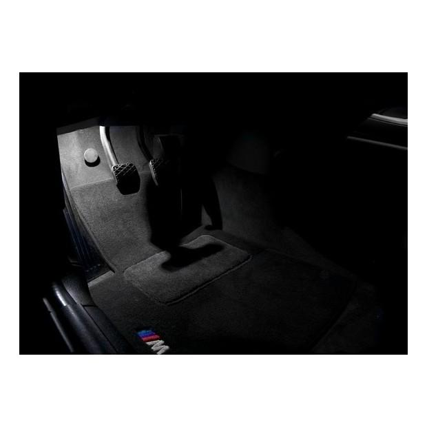 Led poggiapiedi BMW Serie 1, 3, 5, 6, X1, X3, X5, X6 e Z4