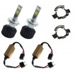 Kit luz Cruzamento para Audi (Inclui Kit de diodo emissor de luz ZesfOr + adaptadores + cancelamento)