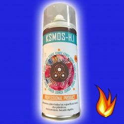 Spray de pintura anticalórica para coche y moto AZUL (brillo)
