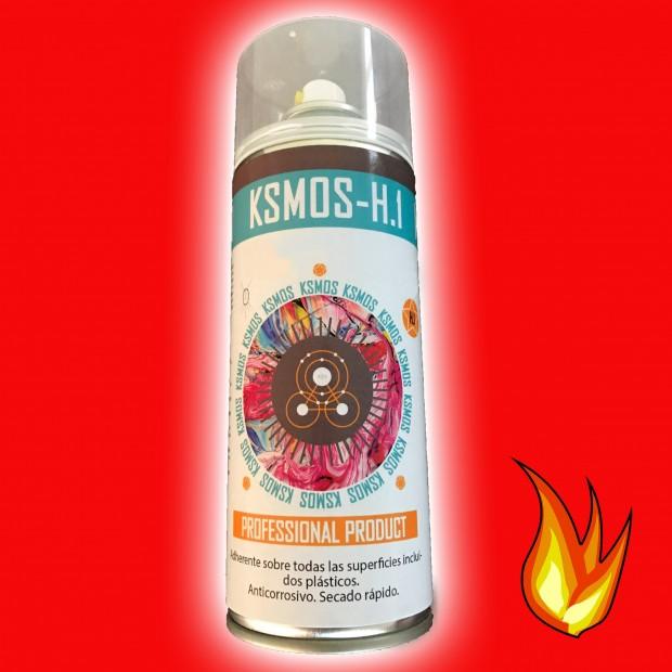 Spray de tinta anticalórica para carro e moto VERMELHA (brilho)