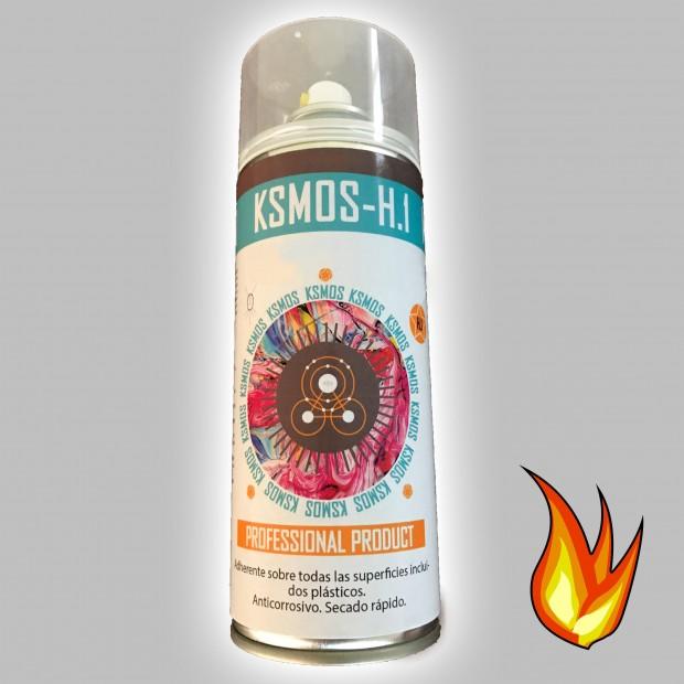 Spray de tinta anticalórica para carro e moto PRATA (brilho)