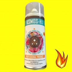 Spray de pintura anticalórica para coche y moto AMARILLA (mate)