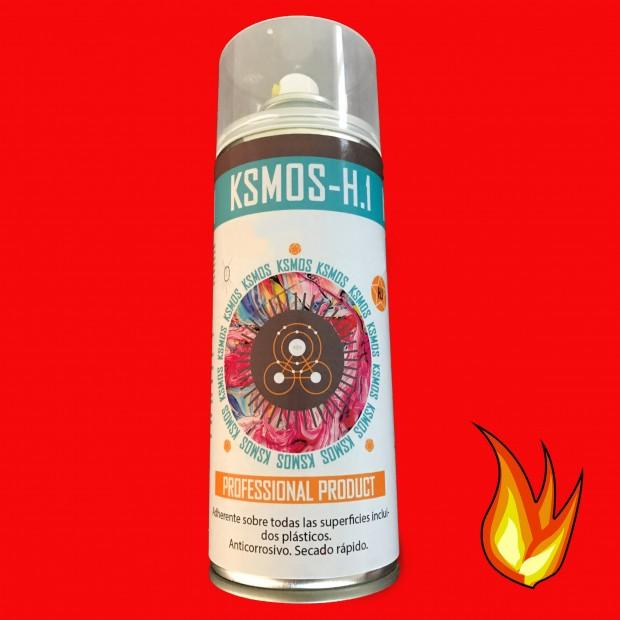 Spray de tinta anticalórica para carro e moto VERMELHO (mate)