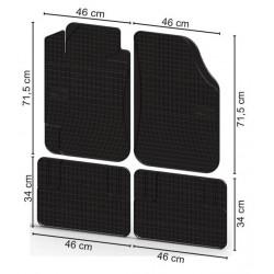 Fußmatten Universal-Gummi-Große