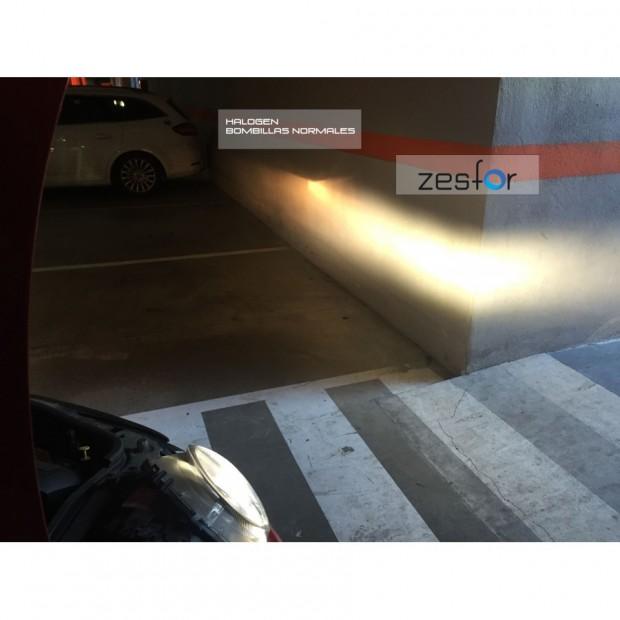 Kit Led-licht Kreuzung für Volkswagen (Kit led ZesfOr + adapter + insbesondere)