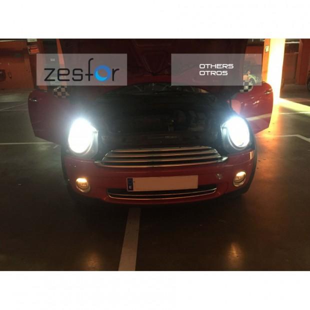 Kit luz Led Cruce para Volkswagen (Incluye Kit led ZesfOr + adaptadores + canceladores)