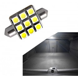 Diodo emissor de luz da bagageira Seat Leon Ibiza Cordoba Toledo Arosa Exeo e Alhambra