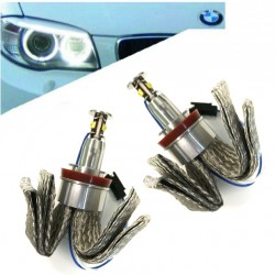 Kit occhi di angel a LED 40W per BMW 2007/2011 - Tipo 7