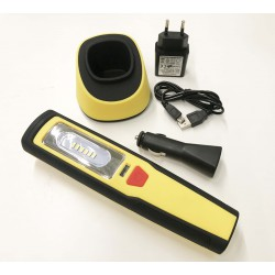 Flashlight rechargeable LED working – Tech Light