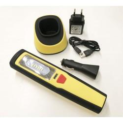 Lanterna LED recarregável de trabalho – Tech Light