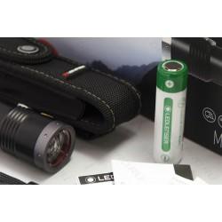 Flashlight Led Lenser WP10, 1000 Lumens, Rechargeable